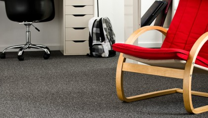 Encounter (Poly Berber) Timeless and serviceable carpet